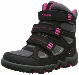 Hi-Tec Girls' Thunder Waterproof Junior High Rise Hiking Boots