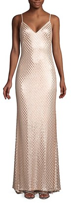 SHO Embellished High-Low Gown