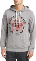 True Religion Mens Pullover Hoodie, Xxxl, Grey