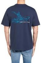 Vineyard Vines Men's Boat Sketch Pocket T-Shirt
