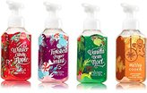 Bath & Body Works Christmas Holiday Traditions Soap - Vanilla Bean Noel + Winter Candy Apple + Merry Cookie + Twisted Peppermint - Set of 4 Gentle Foaming Hand Soaps
