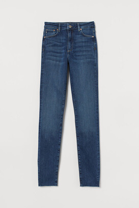 H&M Shaping High Jeans - Blue