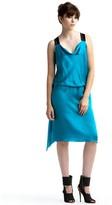 Crisscross Satin Dress