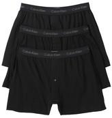 Calvin Klein Underwear Cotton Classic 3 Pack Knit Boxers