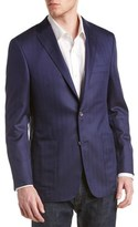 Hickey Freeman Brighton Wool & Silk-blend Sport Coat.