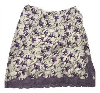 Christian Dior Purple Silk Skirts