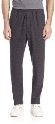 Ami Heathered Carrot Fit Wool Blend Trousers