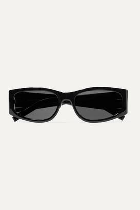 Saint Laurent Square-frame Acetate Sunglasses - Black