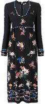 Vilshenko floral printed maxi dress