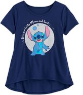 "Disney Disney's Lilo & Stitch Girls 7-16 ""Love You to the Moon and Back"" Graphic Tee"