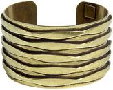 Oxidized Brass Plated Talum Cuff