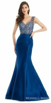 Morrell Maxie Embellished Mikado Evening Dress