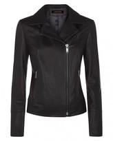 Jaeger Leather Biker Jacket