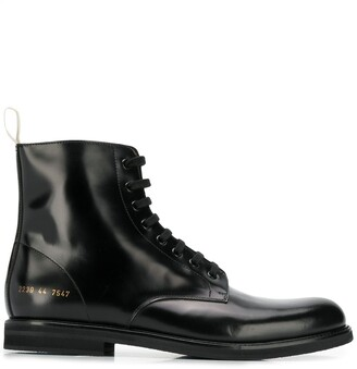 Common Projects lace-up ankle boots