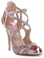 Betsey Johnson Raqui Glitter Cutout Sandal