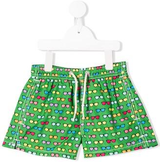 Mc2 Saint Barth Kids Joystick swim shorts