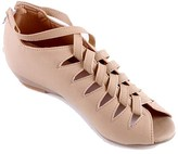 PeepToe Butiti BUTITI Women's Sandals pink - Pink Crosscross-Strap Cutout Peep-Toe Shoe - Women