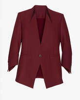 Helmut Lang Exclusive Leather Detailed Blazer