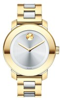 Movado 'Bold' Round Bracelet Watch, 36mm