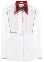 Miu Miu Embellished Cotton Shirt
