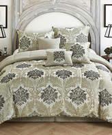 Idea Nuova Beige Victoria Jacquard Seven-Piece Comforter Set