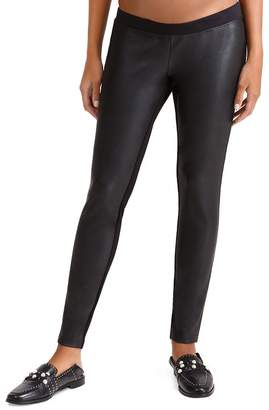 Ingrid & Isabel Maternity Faux-Leather Leggings
