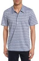 Billy Reid Men's Mickey Stripe Chambray Shirt