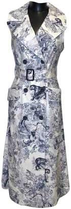 Christian Dior White Cotton Dresses