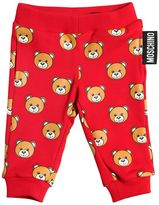 Moschino Bear Printed Cotton Sweatpants