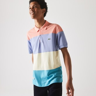 Lacoste Men's Fresh And Light Cotton Pique Classic Fit Polo Shirt