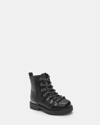 Ted Baker 303827 Hiker Boot With Croc Detail