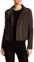 Michael Stars Asymmetrical Zip Moto Jacket