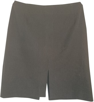 Barneys New York Black Cotton - elasthane Skirt for Women
