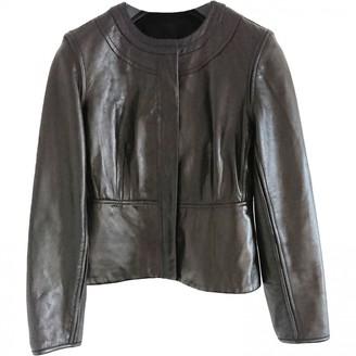 Diane von Furstenberg Brown Leather Jackets