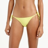 J.Crew String hipster bikini bottom in Italian matte