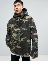 Dickies Overhead Jacket In Camo