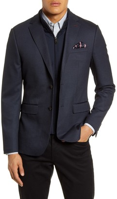 Ted Baker Rhino Slim Fit Sport Coat with Insert