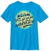 Fifth Sun Turquoise 'Let's Go on an Adventure' Crewneck Tee - Boys