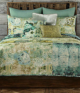 Poetic Wanderlust by Tracy Porter Poetic WanderlustTM by Tracy Porter Chloe Eclectic Mixed-Pattern Voile Quilt