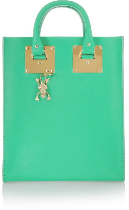 Sophie Hulme Mini leather tote