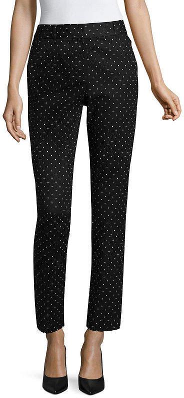 Liz Claiborne Classic Fit Cotton Emma Pant - Tall