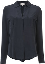 L'Agence front pockets plain shirt - women - Silk - XS