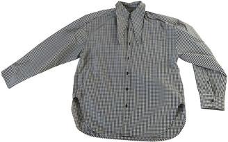 Balenciaga Brown Cotton Tops