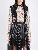 Preen Line Azurra chiffon shirt