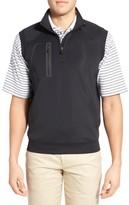Bobby Jones Men's Xh2O Crawford Stretch Quarter Zip Golf Vest