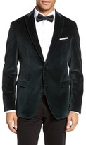 BOSS Men's Reman Trim Fit Velvet Dinner Jacket