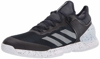 adidas Adizero Ubersonic 2 Mens Tennis Shoe (Black/White) (Numeric_12_Point_5)