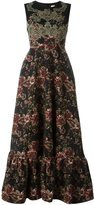Antonio Marras floral dress - women - Acrylic/Polyester/Spandex/Elastane/Viscose - 42