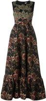 Antonio Marras floral dress - women - Acrylic/Polyester/Spandex/Elastane/Viscose - 44