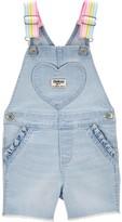 Osh Kosh Oshkosh Bgosh Toddler Girl Heart Pocket Shortalls